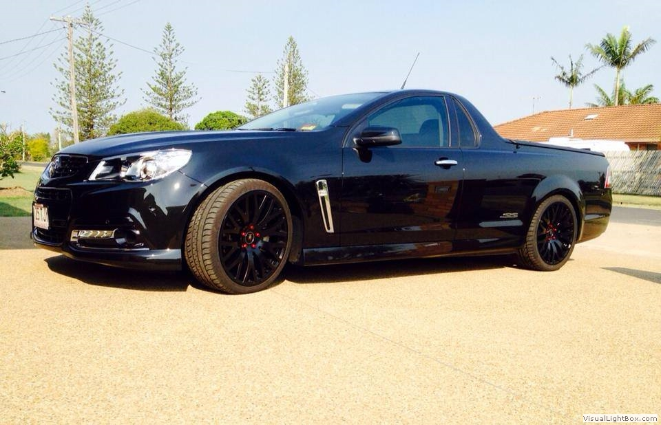VF SS Ute, Fitted Lowered Springs, Did Full Exhaust, OTR Intake And ... Blake